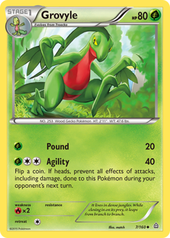 Grovyle card for Primal Clash
