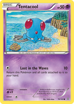 Tentacool card for Primal Clash