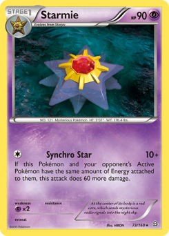 Starmie card for Primal Clash