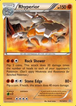 Rhyperior card for Primal Clash
