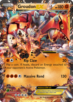 Groudon-EX card for Primal Clash