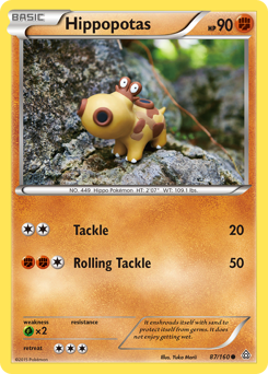 Hippopotas card for Primal Clash