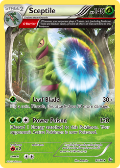Sceptile card for Primal Clash