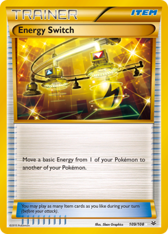 Energy Switch card for Roaring Skies