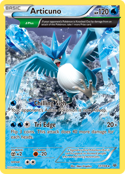 Articuno card for Roaring Skies