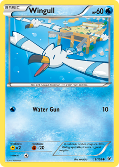 Wingull card for Roaring Skies