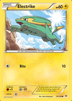 Electrike card for Roaring Skies