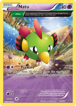 Natu card for Roaring Skies