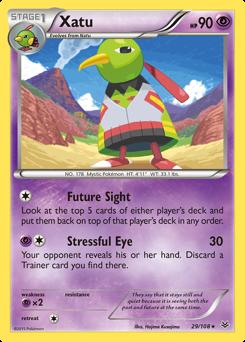 Xatu card for Roaring Skies