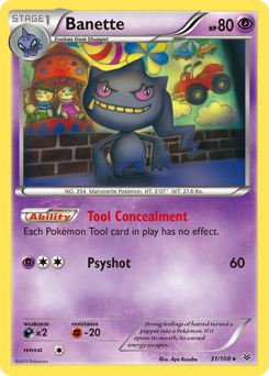 Banette card for Roaring Skies