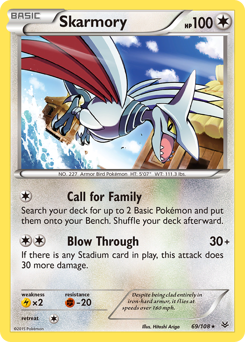 Skarmory card for Roaring Skies