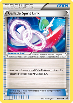 Gallade Spirit Link card for Roaring Skies