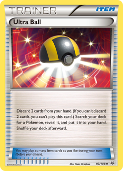 Ultra Ball card for Roaring Skies