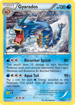 Gyarados card for Ancient Origins