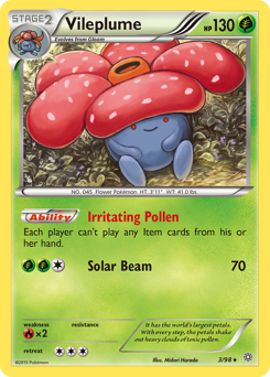 Vileplume card for Ancient Origins