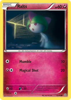Ralts card for Ancient Origins