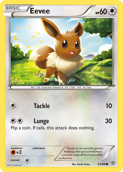 Eevee card for Ancient Origins