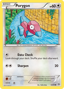 Porygon card for Ancient Origins