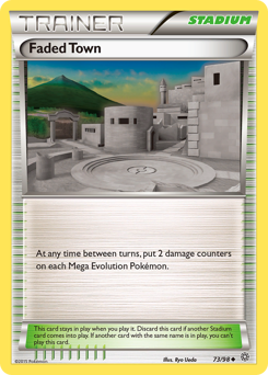 Faded Town card for Ancient Origins
