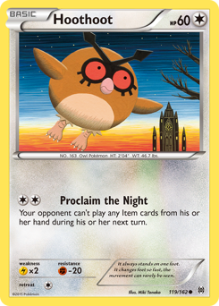 Hoothoot card for BREAKthrough