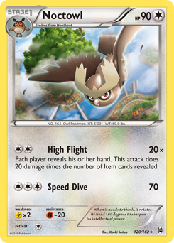 Noctowl card for BREAKthrough