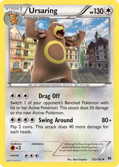 Ursaring card for BREAKthrough
