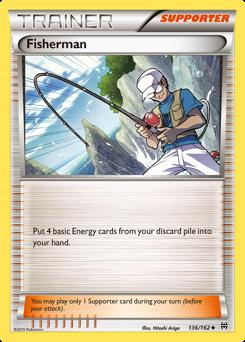 Fisherman card for BREAKthrough