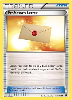 Professor's Letter card for BREAKthrough