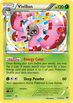 Vivillon card for BREAKthrough