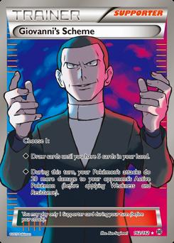 Giovanni's Scheme