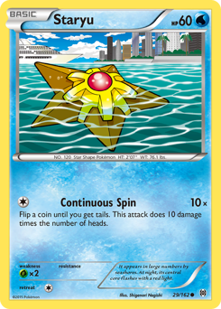 Staryu card for BREAKthrough