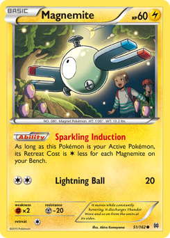 Magnemite card for BREAKthrough