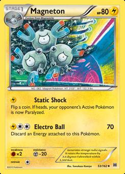 Magneton card for BREAKthrough