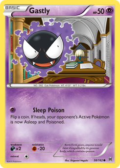 Gastly card for BREAKthrough