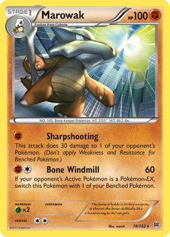 Marowak card for BREAKthrough