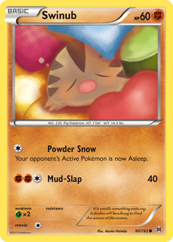 Swinub card for BREAKthrough