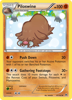 Piloswine card for BREAKthrough