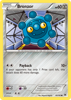 Bronzor card for BREAKthrough