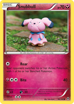 Snubbull card for BREAKthrough