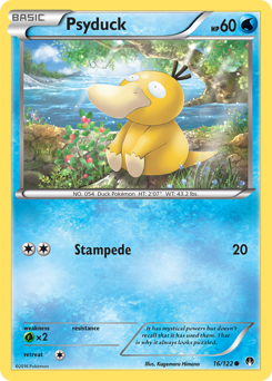 Psyduck card for BREAKpoint