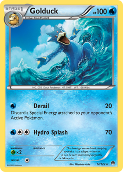 Golduck card for BREAKpoint