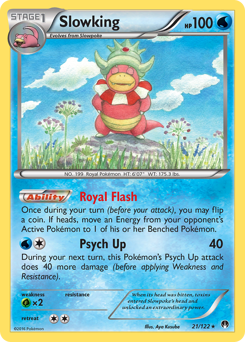 Slowking card for BREAKpoint