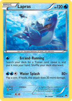 Lapras card for BREAKpoint