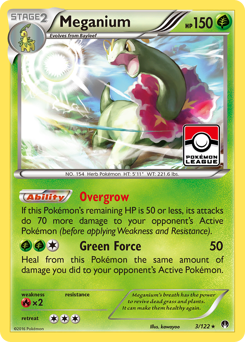 Meganium card for BREAKpoint