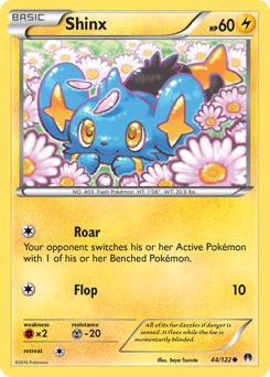 Shinx card for BREAKpoint