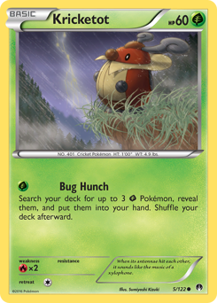 Kricketot card for BREAKpoint