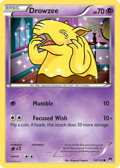 Drowzee card for BREAKpoint
