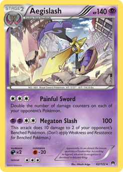 Aegislash card for BREAKpoint
