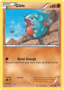 Gible card for BREAKpoint