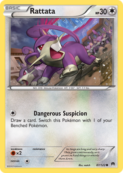 Rattata card for BREAKpoint
